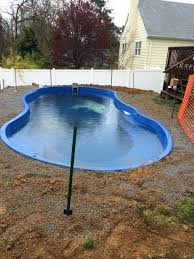 fiberglass pool installation fibreglass diy inground memphis tn