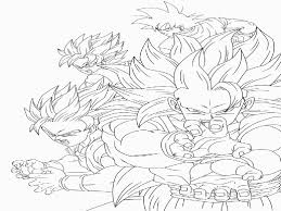 Dragon Ball Z Coloring Page Free Coloring Home For Lightning