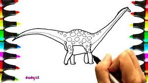 Small Picture How to Draw Antarctosaurus Dinosaur Coloring Pages for Kids