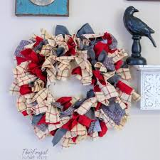 let me show you how to do this super simple farmhouse rag wreath diy this