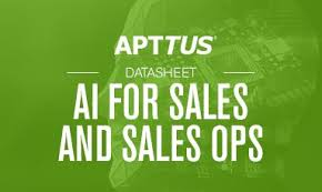 For Sales Ai For Sales And Sales Ops Data Sheet Apttus