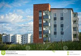 Modern Apartment Buildings Stock Photo Image Of Houses 25768906