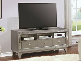 mirror tv stand. brazia tv stand with mirrored accents mirror tv c