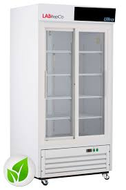ultra series 33 cu ft sliding glass door laboratory refrigerator