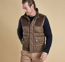 Barbour Mens Quilted Gilets | Colwarmth Olive Green & Barbour Colwarmth Quilted Gilet Olive Green Adamdwight.com