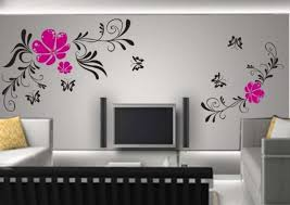 simple living room wall decor ideas lovely simple wall painting designs for living room at modern