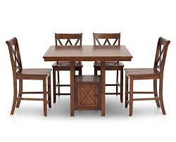 cottage 5 pc counter height dining room set
