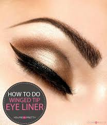 cat eye winged liner tutorial