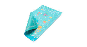mothercare baby s non slip bath mat under the sea blue safety rug chemical