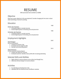 How To Make Resume Templates Do For Job Archaicawful A With No