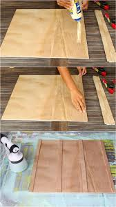 we love using purbond plywood for our home and garden projects we used it here in our diy wood bed frame with headboard it s a high quality