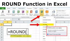 Roundup Usage Chart Round In Excel Formula Examples How To Use Round Function