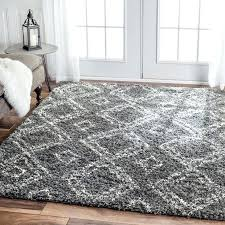 grey plush rug inspired by carpets this trellis rug adds depth to your decor grey grey plush rug