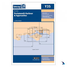 Imray Chart Y35 Portsmouth Harbour Approaches Small Format