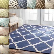 brilliant trellis area rug nuloom handmade alexa moroccan trellis wool area rug 5 x 8