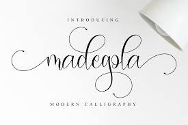 Cursive · script · feminine · masculine · formal · informal · messy · neat · scribbled. Madegola Script Font By Nissastudio Creative Fabrica In 2020 Script Fonts Free Font Pretty Fonts