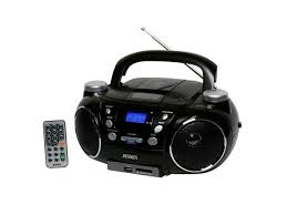 jensen cd 750 portable am fm stereo cd player with encoder player