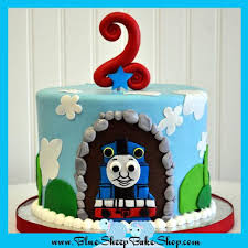 Thomas The Train Cake Birthday Cake Blue Sheep Bake Shop
