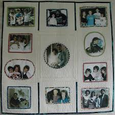 Memory Quilts - Vavrik Family Quilt & The hardest part of this project was selecting the photos to include in the  quilt. Even though my mom died in 1988, I wanted to include a picture of  her as ... Adamdwight.com