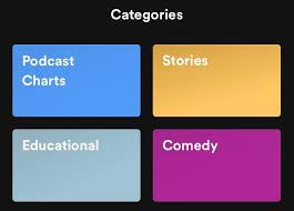 Comedy Podcast Charts Spotify Concept Podcast Discovery Prototypr
