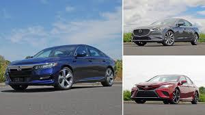 Comparison Test 2018 Honda Accord Vs 2018 Toyota Camry Vs