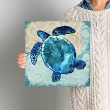 sea turtle graphic art print on canvas on lovely sea turtle wall art with animal canvas art you ll love wayfair