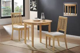 simple white seating design minimalist dining room rustic small dining tables set made from wooden material