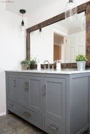 looking for bathroom vanities. industrial farmhouse bathroom reveal looking for vanities