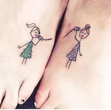 татуировки для подруг парные тату для двоих рисунок влюбленные