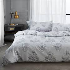 illucity 600tc egyptian cotton sateen paisley patterned bedding set king queen size duvet cover set queen comforter cover queen bedding sets from