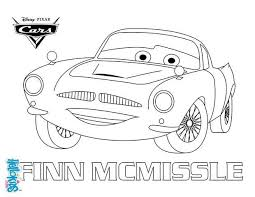 Small Picture Color Finn McMissile A coloring page of the famous disney movie