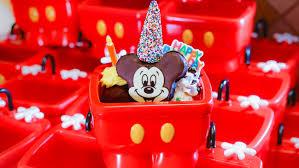 15 Must Try Treats From Disney Parks New Happy Birthday Mickey Menu