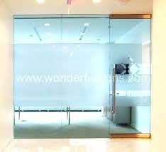 glass office door remarkable doors frosted frosting medium size of bathroom name plates