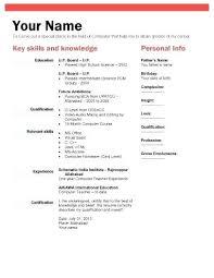 Biodata Template Free Download