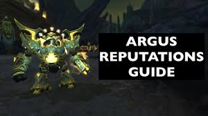 Best Way To Get Exalted With Army Of The Light Guide To Argus Reputations Argussian Reach Army Of The Light Wow Guide