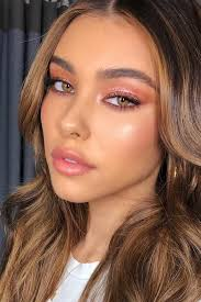 45 top rose gold makeup ideas to look