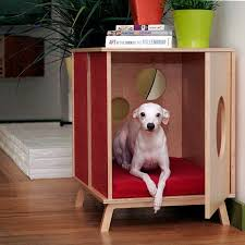 However, Modernist Cat doesn't JUST make cat furniture - they have a cute  dog bed, too that doubles as an end table.