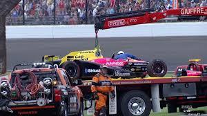 Harvey Crashes | Indianapolis 500 2017 - YouTube