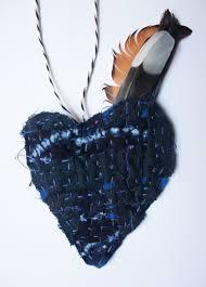 Linda Summers indigo heart talisman | It's Crow Time