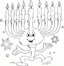 Small Picture dancing menorah Coloring Pages Printable