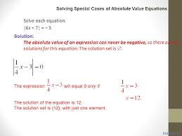 solve each equation 6x 7 5