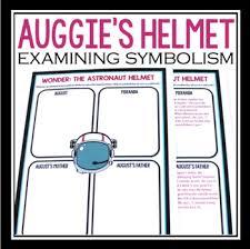 wonder by rj palacio symbolism activity astronaut helmet