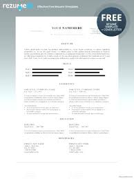 Eye Catching Resumes New Microsoft Resume Templates Daxnetme