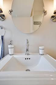 oval mirrors for bathroom. Square Pedestal Sink With Oval Mirror Mirrors For Bathroom G