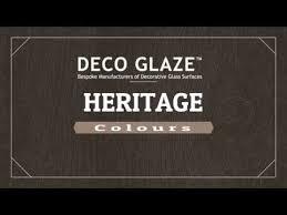 Deco Glaze Colour Chart Deco Glaze Heritage Colour Range