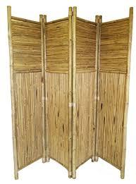 Bamboo 4 Panel Screen