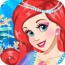 barbie makeup mermaid princess new hairstyle barbie doll beauty games free kids games by ying chen