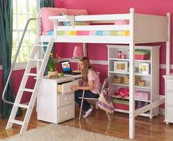 Image American Girl Girls Loft Beds With Desk Qnud Girls Loft Beds With Desk 2507