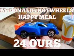 mcdonalds hotwheels happy meal ours 🍟  mcdonalds hotwheels happy meal 24 ours 🍟