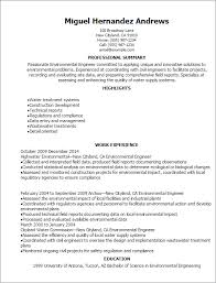Professional Engineer Resume Samples Professional Environmental Engineer Resume Templates To